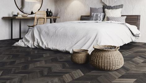 hongaarse punt slaapkamer pvc vloer